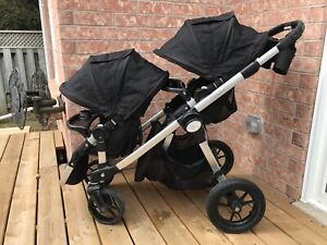 Baby Jogger City Select Double Stroller with Graco Adaptor