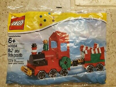 LEGO 40034 Seasonal Christmas Train 2012 Holiday Polybag - RETIRED SETSEALED