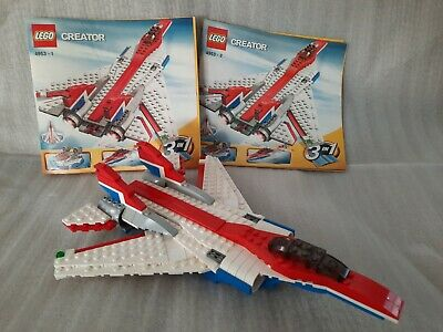 Lego Creator Fast Flyers (4953) & (31018) Highway Cruiser Motorcycle Retired