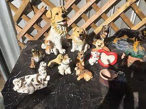 Dog figurines Alberton Port Adelaide Area Preview