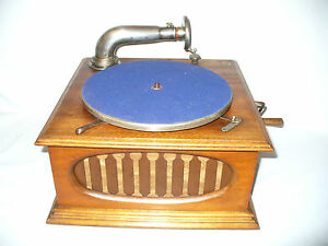 ancien phonographe gramophone path diamond saphir ebay. Black Bedroom Furniture Sets. Home Design Ideas