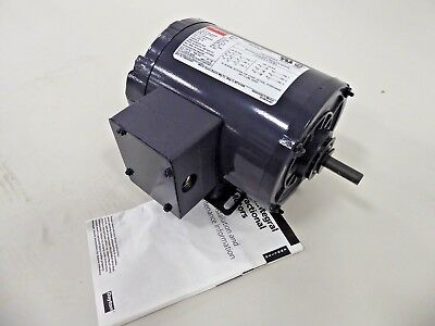 Dayton 3n349bd Electric Motor 14 Hp 1725 Rpm 208-230460v 3 Ph 48 Frame