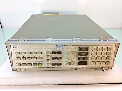 Hp 8566a Spectrum Analyzer 100 Hz - 22 Ghz W Opt 85660a - Tested