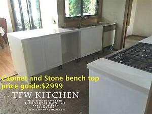 Complete Kitchen Cabinets+Hertiage Polyurethane Gloss White Door Clayton Monash Area Preview