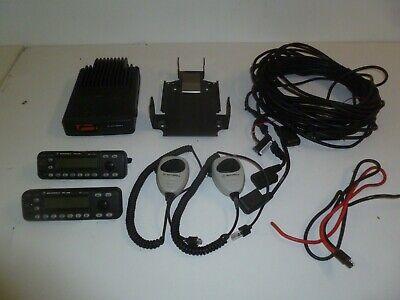 Motorola Mcs2000 Dual Remote Head 100 W 403-470 Mhz Uhf Two Way Radio G300