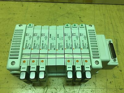 Smc 8 Slot Manifold For Solenoid Valves Vqc - Valves Included