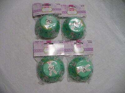 Wilton EASTER  Paper Cupcake Liners 4~75 ct. Muffin Baking Cup NIP - Easter Cupcake