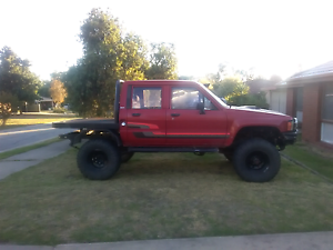 V6 engineered dual cab hilux for sale or swap Thurgoona Albury Area Preview