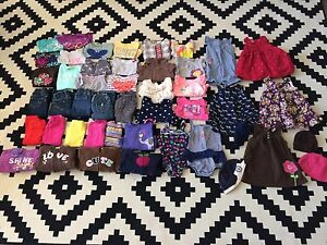 Huge 12-18 mos girls clothing lot. Brand names! 45 items