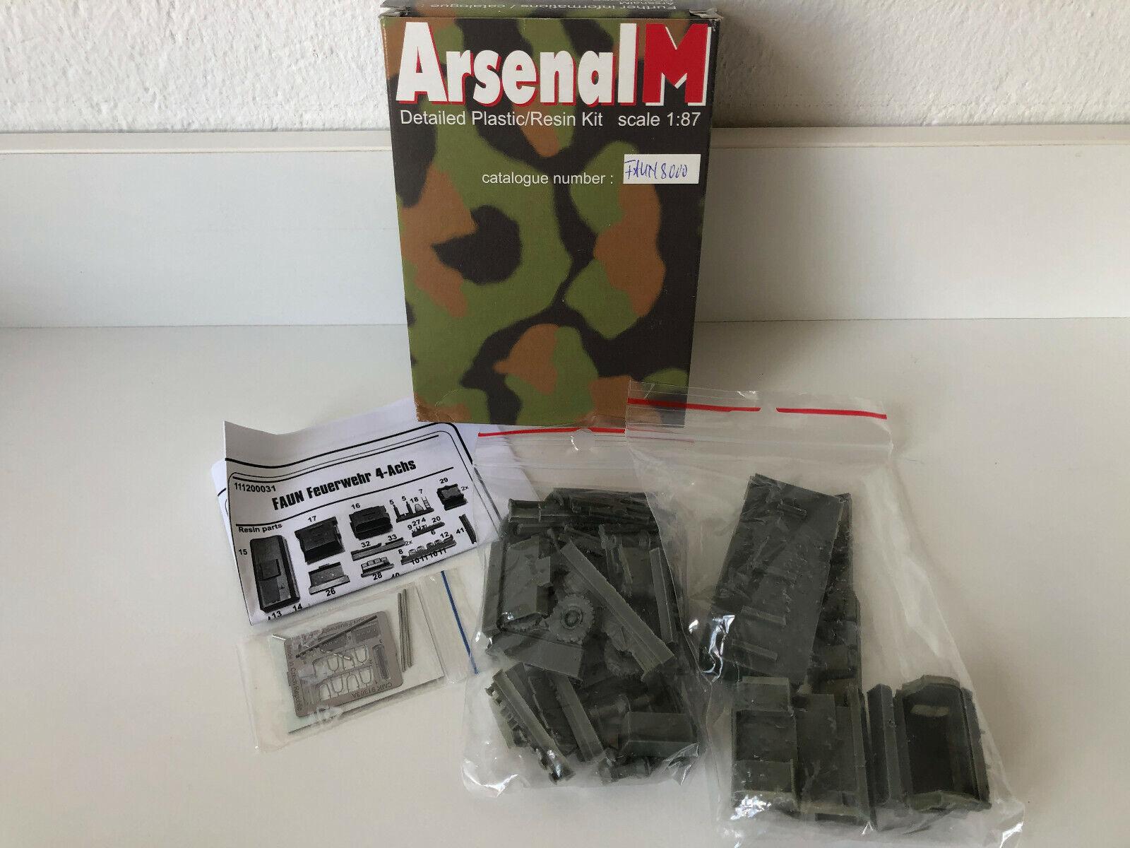 Arsenal M Bundeswehr Resin-Komplettbausatz in OVP Tornado IDS TAURUS NEU