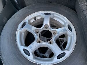 """15"""" Wheels 5x5.5"""" Bolt Pattern with Tires"""