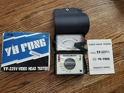 Yu Fong Video Head Tester Model Yf-225v Brand New
