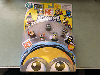DESPICABLE ME Mineez Minions Character 6 Pack Series 1 -- BRAND NEW
