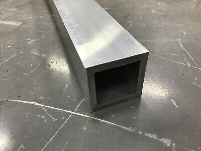 2-12x 2-12 X 18 Wall 6063 T52 Aluminum Square Tube 12 Piece