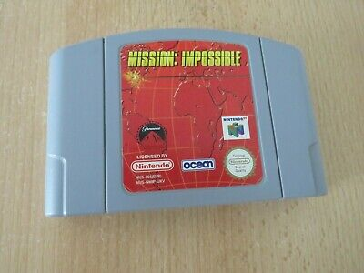 Mission Impossible N64 Nintendo 64 UK PAL (Cart Only)