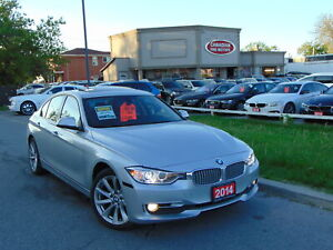 2014 BMW 3 Series NAVI| CLEAN CARFAX| LEATHER ROOF| AWD|