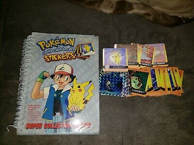 Pokemon sticker lot&album Book 1999