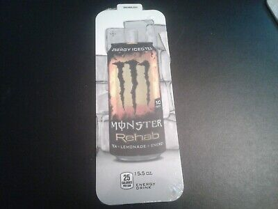 10pack Royal Vendors Soda Vending Machine 16oz Monster Rehab Can Vend Label