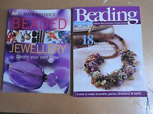 Beading Craft books (2) Riverglades Murray Bridge Area Preview