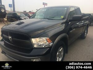 2011 DODGE 1500 OUTDOORSMAN...ONLY $187 B/W....