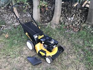 Cub Cadet lawnmower. Tuned up and checked over. All ready to go.