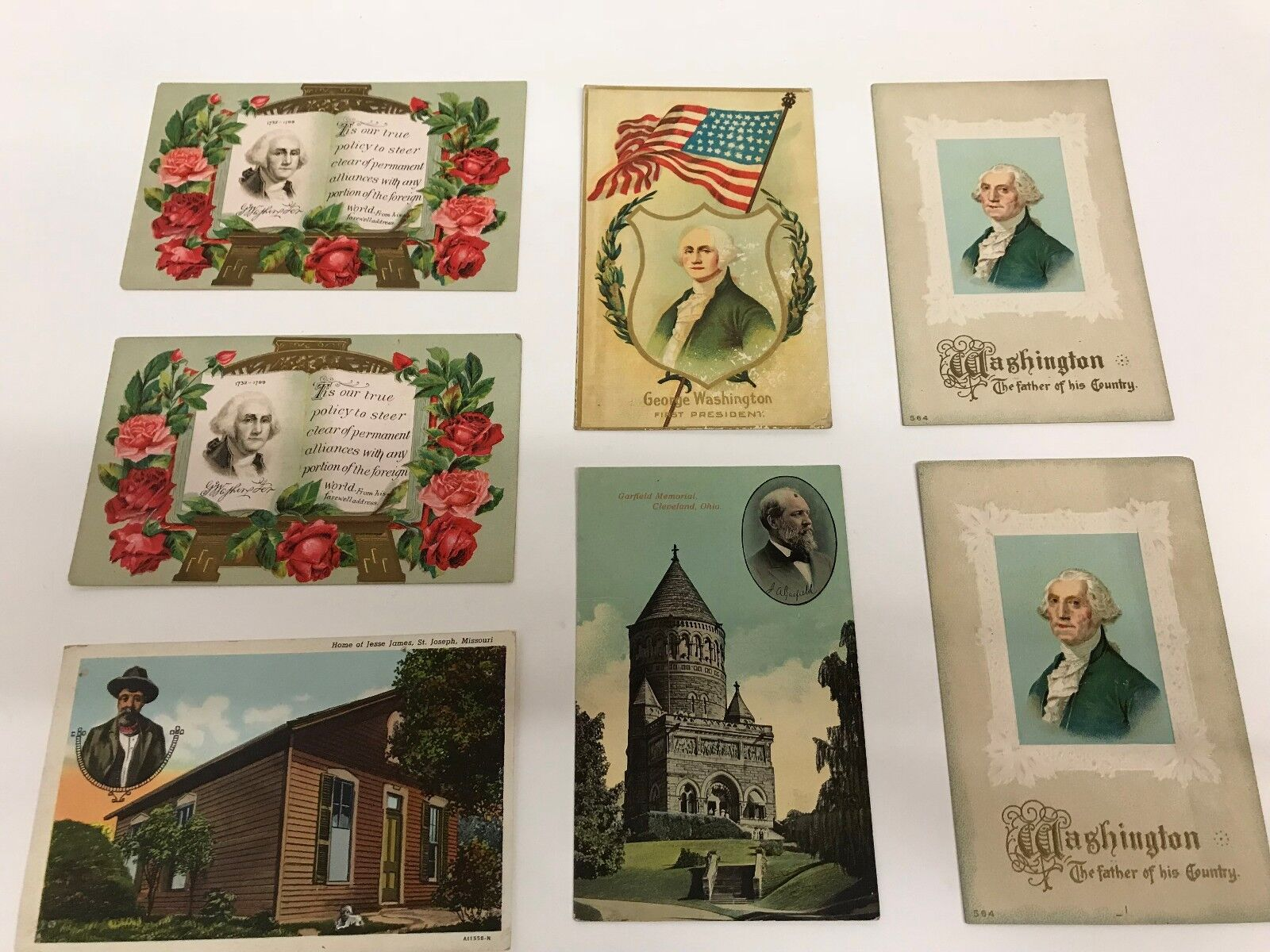Vintage Memorial Day Post Cards