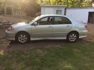 Toyota corolla S 2005 like new for sale