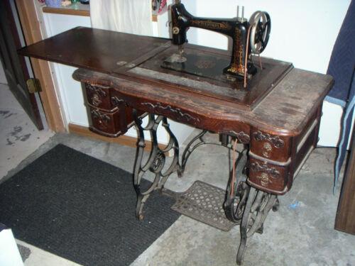 Treddle Sewing Machine