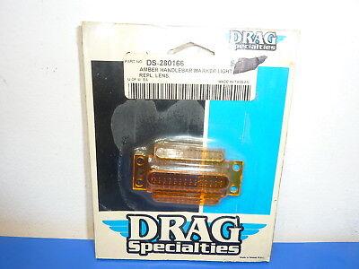 Drag Specialties 280166,Amber Handlebar Marker Light Replacement Lens,NEW