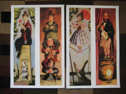 "Vintage Disney 11"" x 17"" ( Haunted Mansion Stretching Room ) Collector"