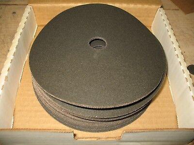 50- 7 X 78 Hole No Slits Floor Sanding Edger Discs 120 Grit Silicon Carbide
