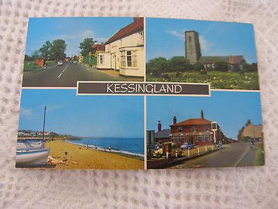 Postcard, Kessingland Multi View, 1987, D Constance