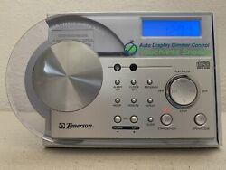 Emerson CKD2328 AM / FM Radio CD Player Alarm Clock, Works!