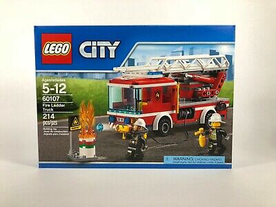 LEGO City 60107 Fire Ladder Truck - NEW - SEALED - RETIRED