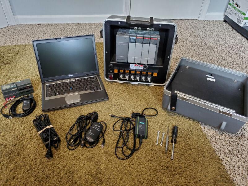 Complete automation, PLC programming Trainer Siemens Allen Bradley LOGO