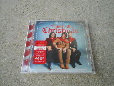 HANSON-FINALLY IT'S CHRISTMAS-CD-HYPE STICKER-FACTORY SEALED-BRAND NEW! ()