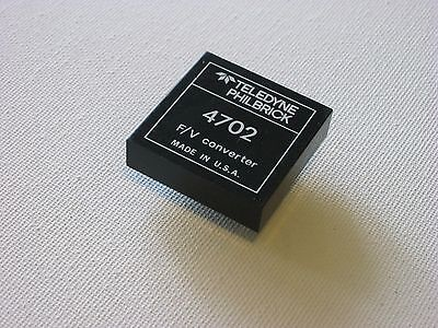Frequency to voltage converter 4702 Teledyne Philbrick Frequency Voltage Converter