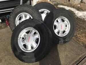 GMC rims and tires for sale $600 from 2000 GMC Sierra z71