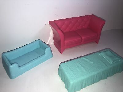 barbie dream house furniture - Beds And Sofa Couch