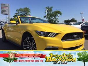 2017 Ford Mustang GT PREMIUM | CONVERTIBLE | HEATED/VENTED LEATH