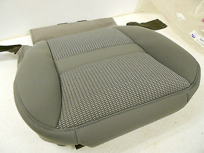 Factory OEM Genuine Mopar Front Seat Bottom Cover Left Drivers Side Grey NEW