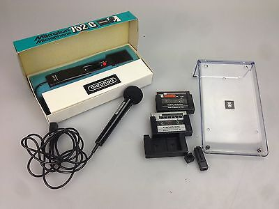 Grundig 1x Mikrofon 752C 1 x Mikrofon GDM763 1x Steno Cassette 1x Tele Cassette