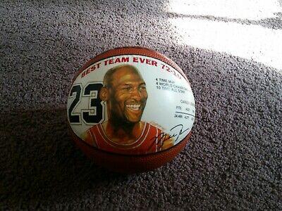 Wilson Michael Jordan Mini Basketball Best Team Ever 72-10 Chicago Bulls
