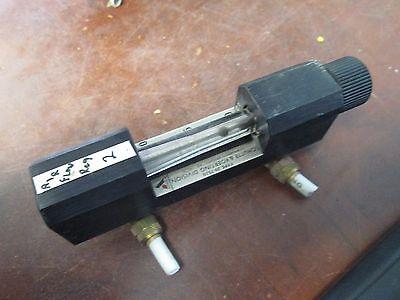 Schutte Koerting Rotameter Flow Meter 20-7510 Used