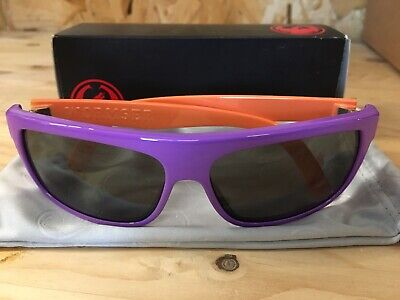 Dragon Wormser Sonnenbrille Purple Crystal Red Ionized Neu OVP