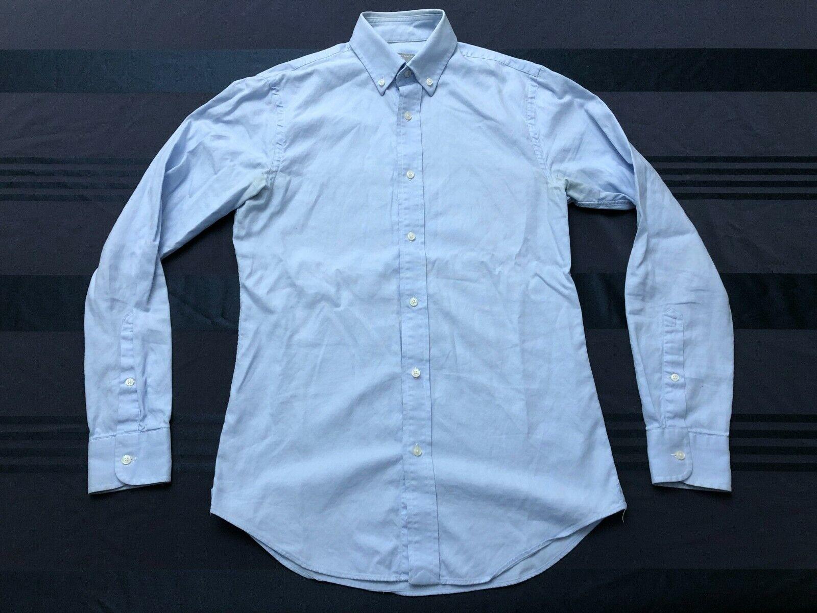 Club Monaco Men s XS Slim Fit Blue Oxford Shirt - $25.00