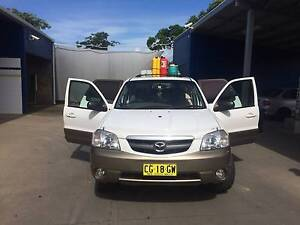 2001 Mazda Tribute Wagon 4X4 Ideal for Backpacker Pagewood Botany Bay Area Preview