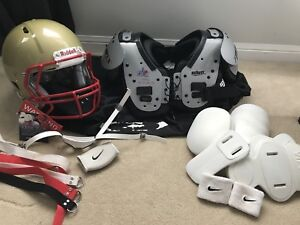 Youth football equipment - like new