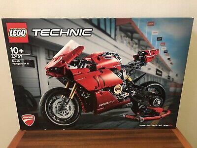 NIB Lego Technic Ducati Panigale V4 R Motorcycle, 42107, Unopened Complete Set