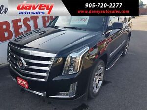 2015 Cadillac Escalade Luxury ALL WHEEL DRIVE, 7 PASSENGER, T...